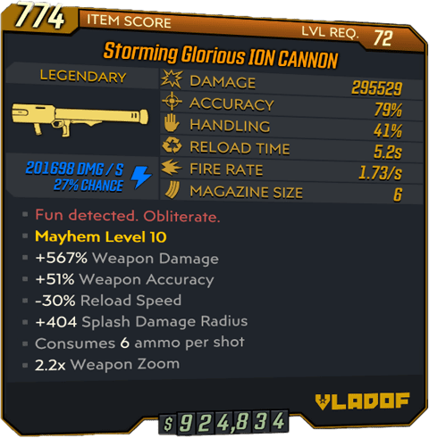 ION CANNON (Launcher-BL3)