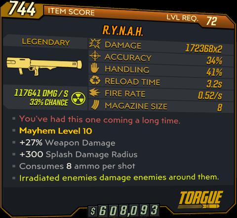 R.Y.N.A.H. (Launcher-BL3)