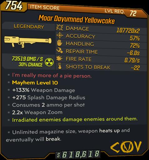 Yellowcake (Launcher-BL3)