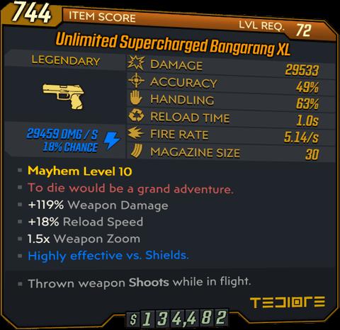 Bangarang (Pistol-BL3)