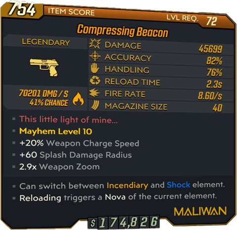 Beacon (Pistol-BL3)