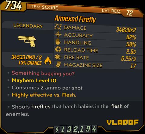 Firefly (Pistol-BL3)