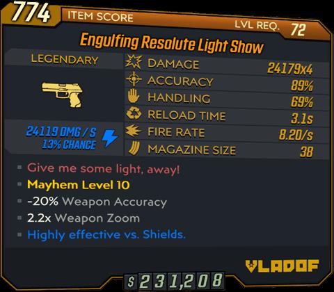 Light Show (Pistol-BL3)