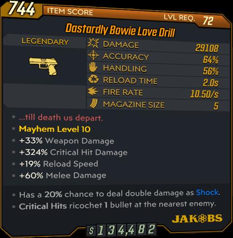 Love Drill (Legendary-Pistol-BL3)