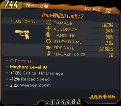 Lucky 7 (Pistol-BL3)