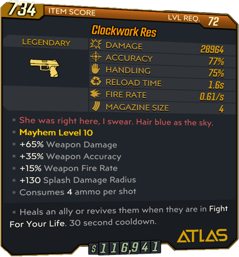 Res (Pistol-BL3)