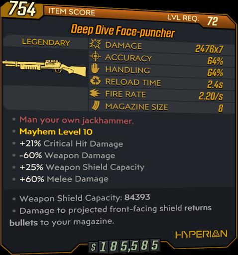 Face-puncher (Shotgun-BL3)