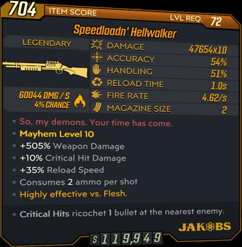 Hellwalker (Shotgun-BL3)