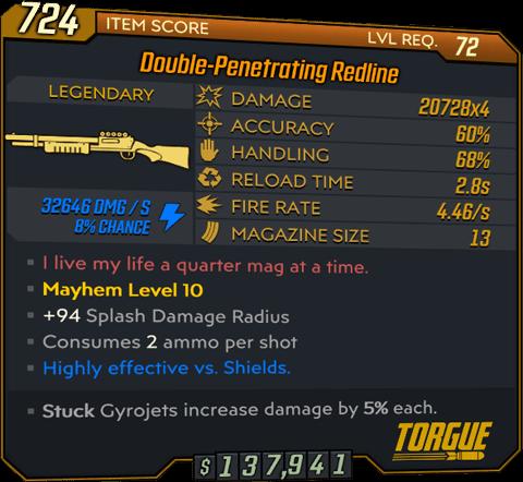 Redline (Shotgun-BL3)