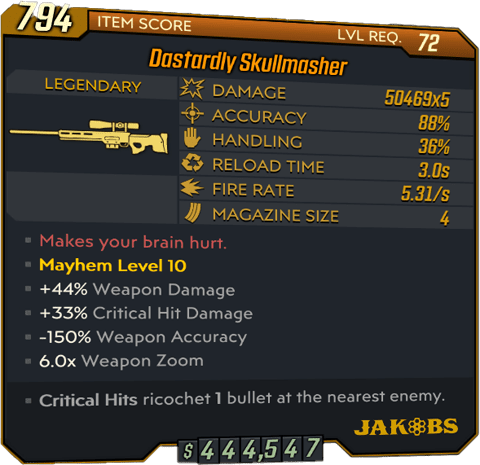 Skullmasher (Sniper-BL3)