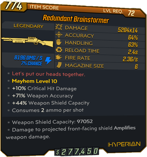 Brainstormer (Shotgun-BL3)