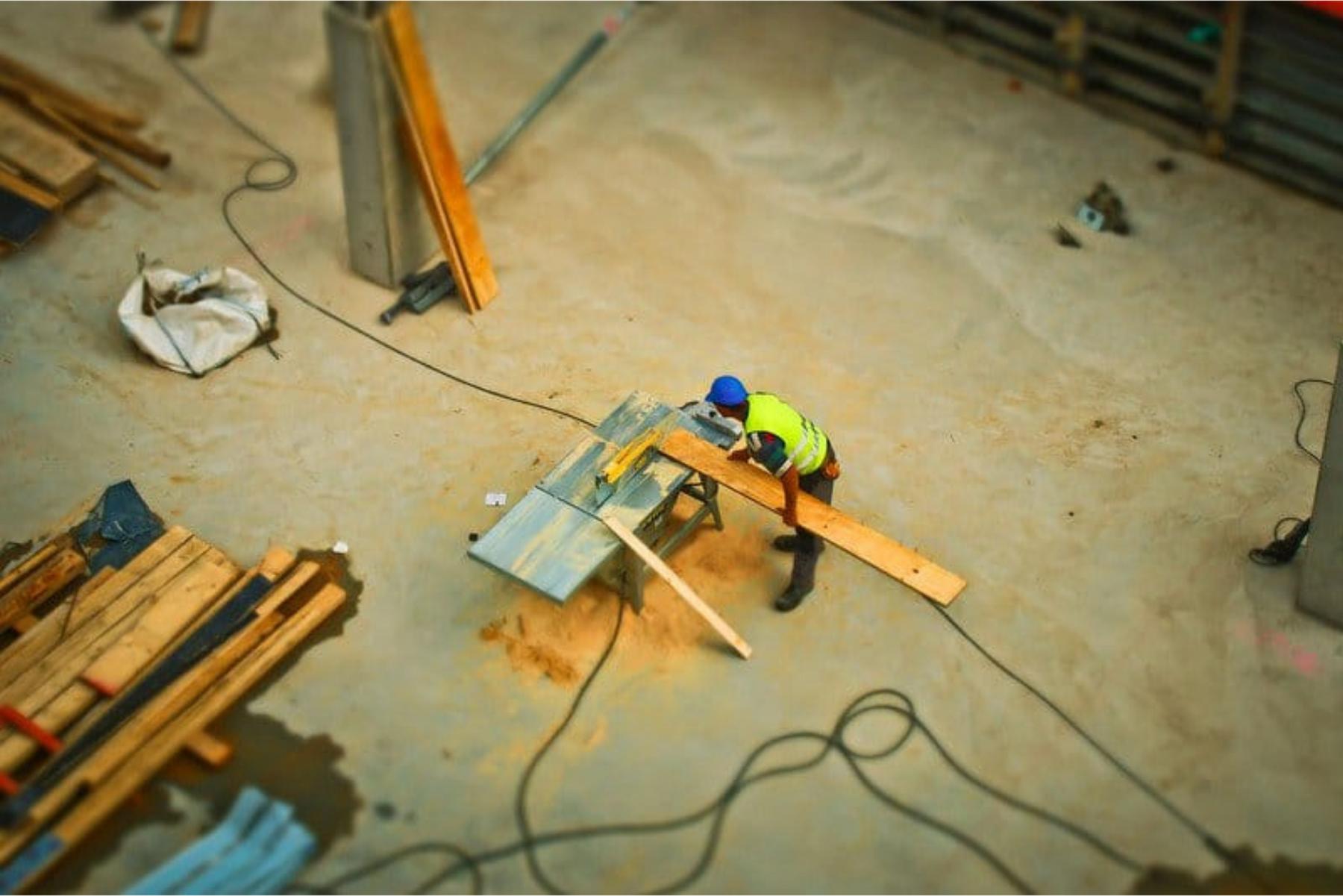 La canicule sur un chantier : que faire?