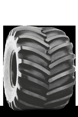 Flotation 23 Degree Deep Tread Tire
