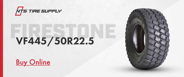 Buy the Firestone VF445/50R22.5 Destination Turf planter tire online.