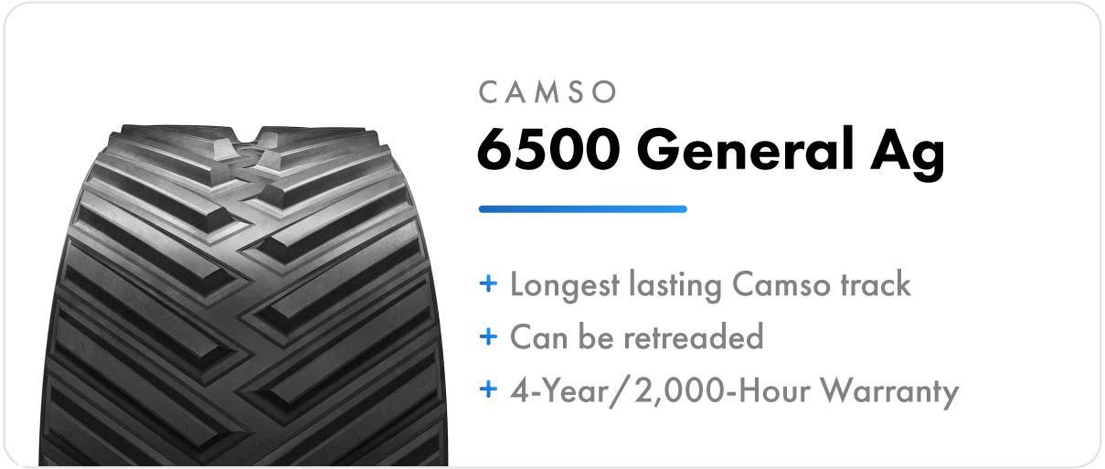 Camso 6500 General Ag track for John Deere 8RT series tractors