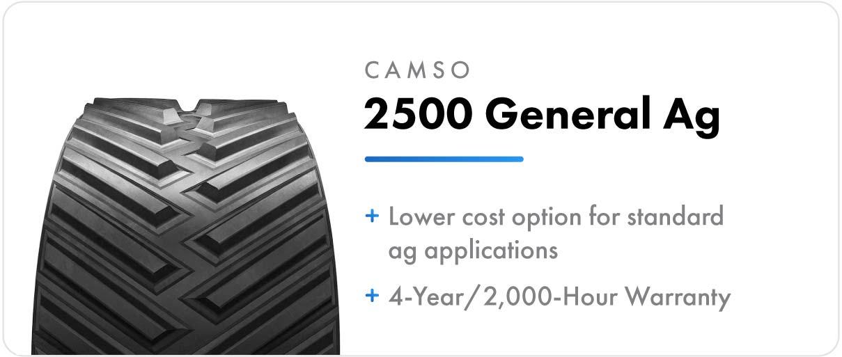Camso 2500 General Ag track for John Deere 8RT series tractors