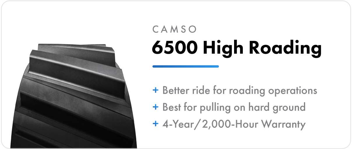 Camso 6500 High Roading track for John Deere 8RT series tractors