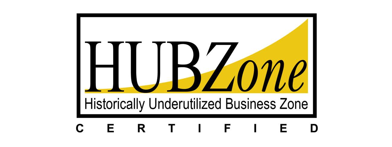 HUBZone certified badge