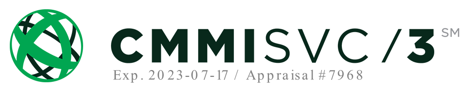 Valiant's CMMI SVC 3 badge