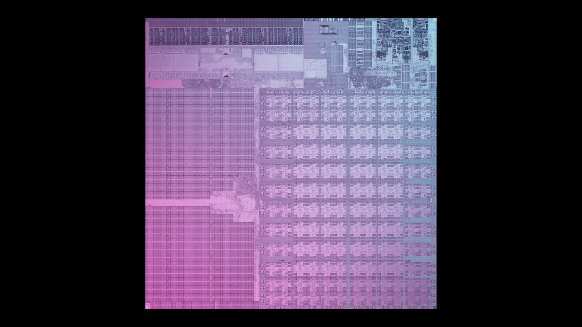 die photograph of quadric's first generation processor. the q16