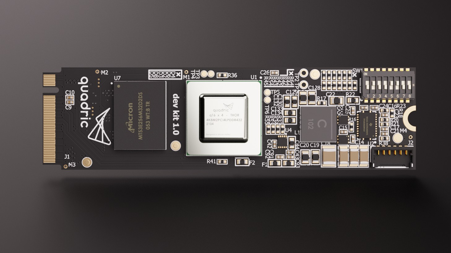 The quadric Developer Kit is the easiest way to experience our developer-focused technology.