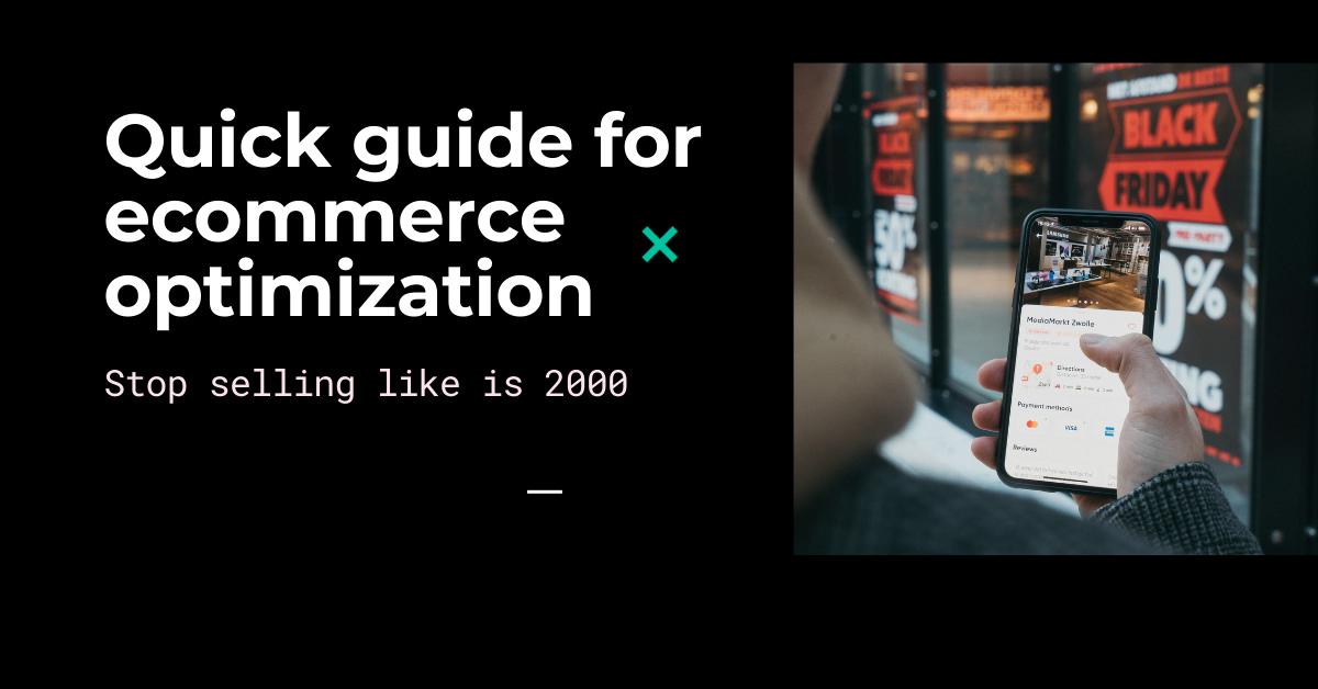 Conexio: Thoughts on E-commerce website optimization