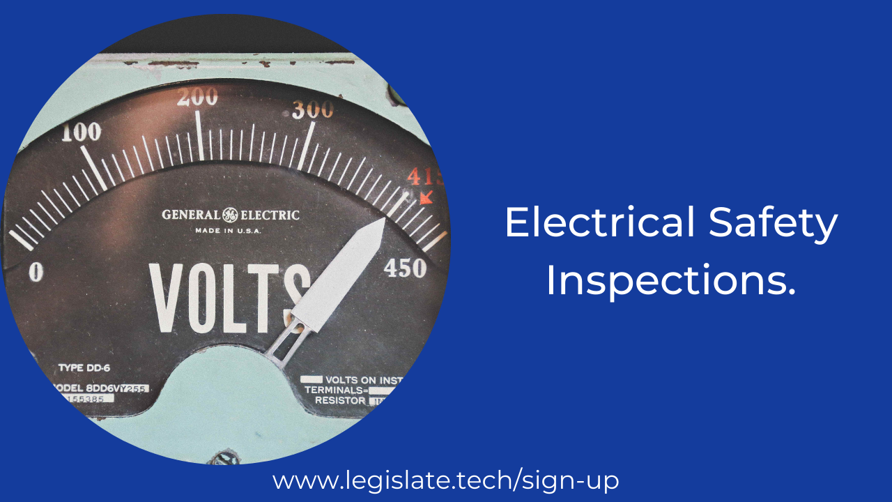 Electrical safety inspections (EICRs) - Rental Property 2021