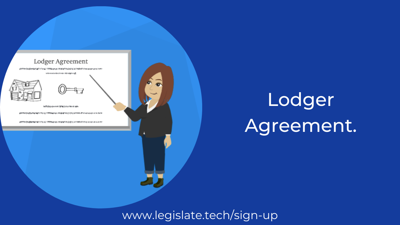 How is a lodger different from a tenant?