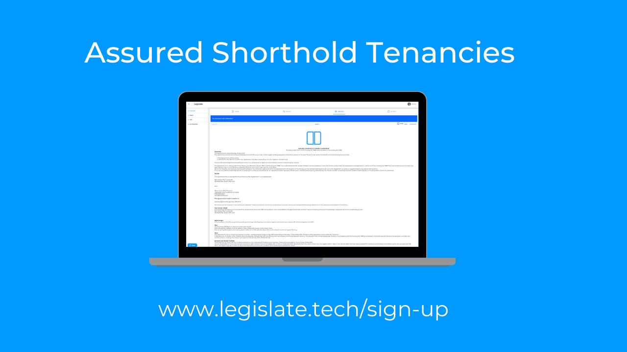 Best alternatives for when the model assured shorthold tenancy agreement is not suitable