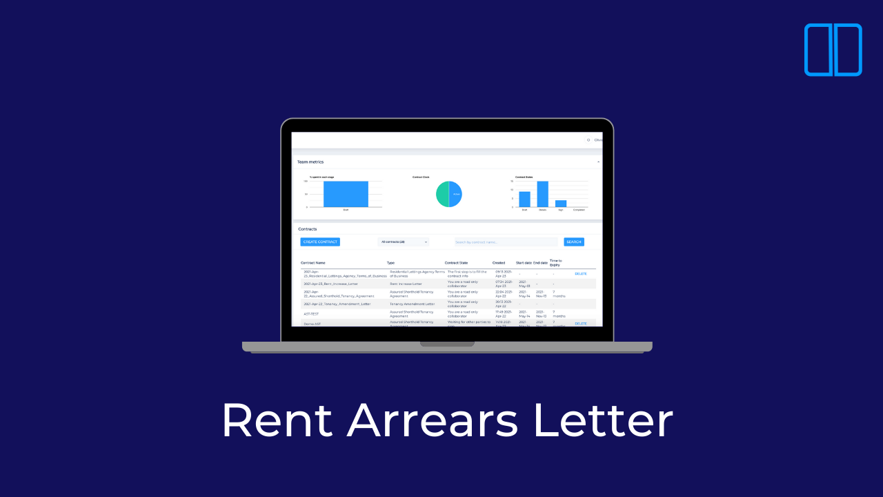 An introduction to Rent Arrears Letters