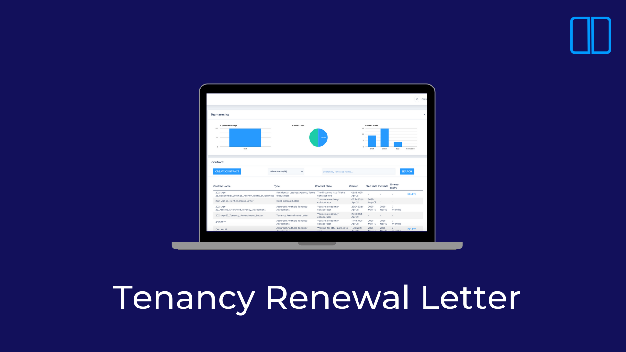 An introduction to Tenancy Renewal Letters