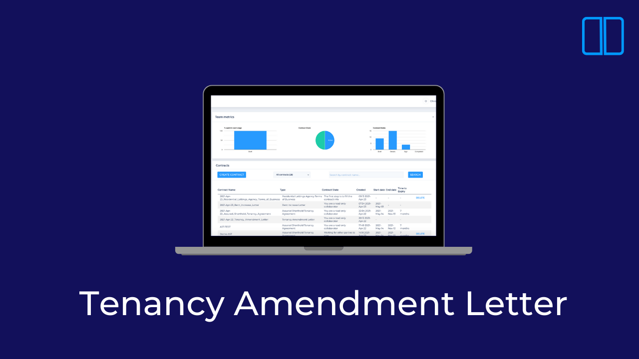An introduction to Tenancy Amendment Letters