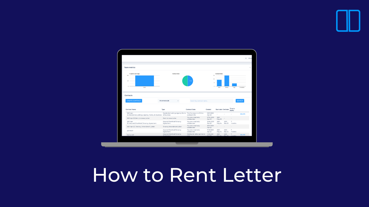 An introduction to the How to Rent Letter