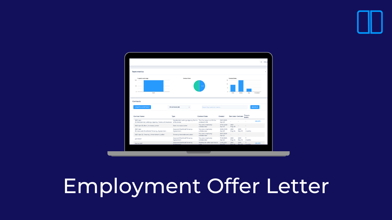 An introduction to Employment Offer Letters with Legislate