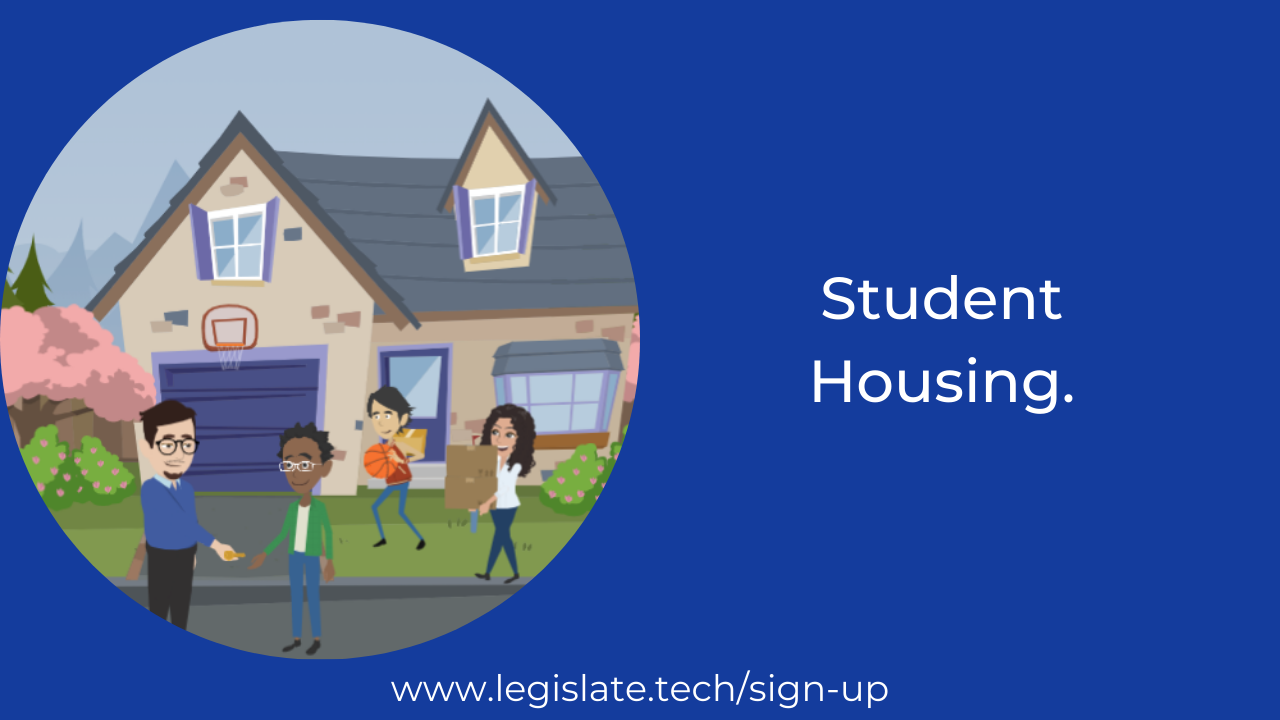 Key terms in a student tenancy agreement template