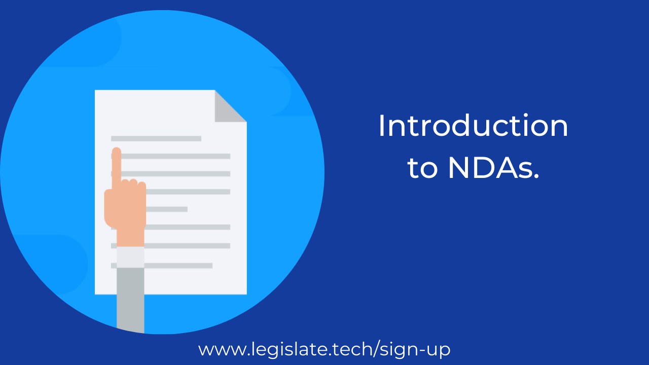 What are NDAs and why are they important?