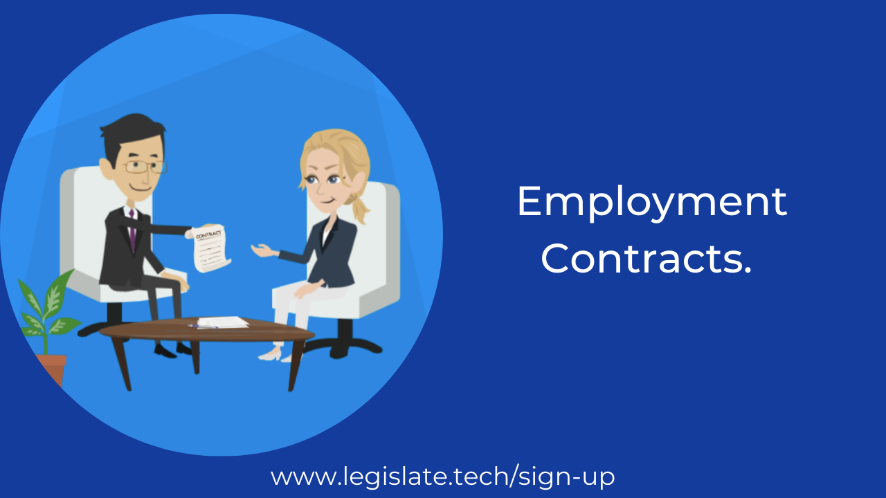 How to change the terms of an employment contract?