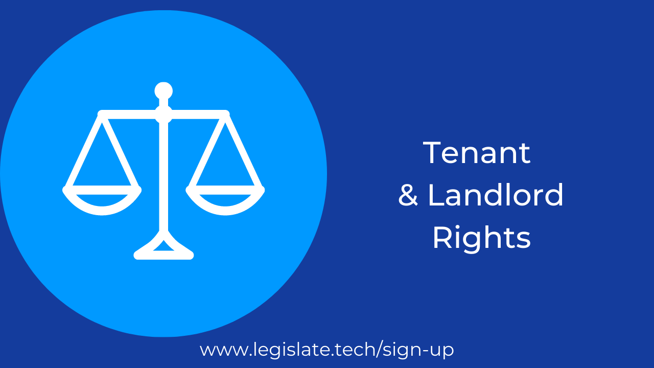Basic rights as a tenant and a landlord