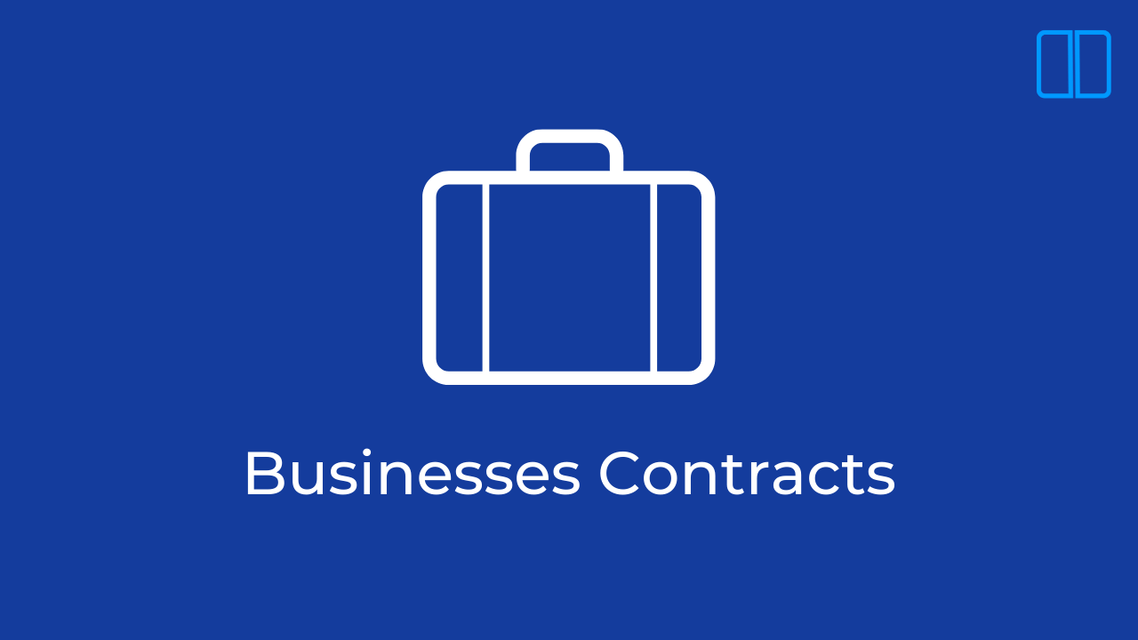 The Definitive Guide to Business contracts