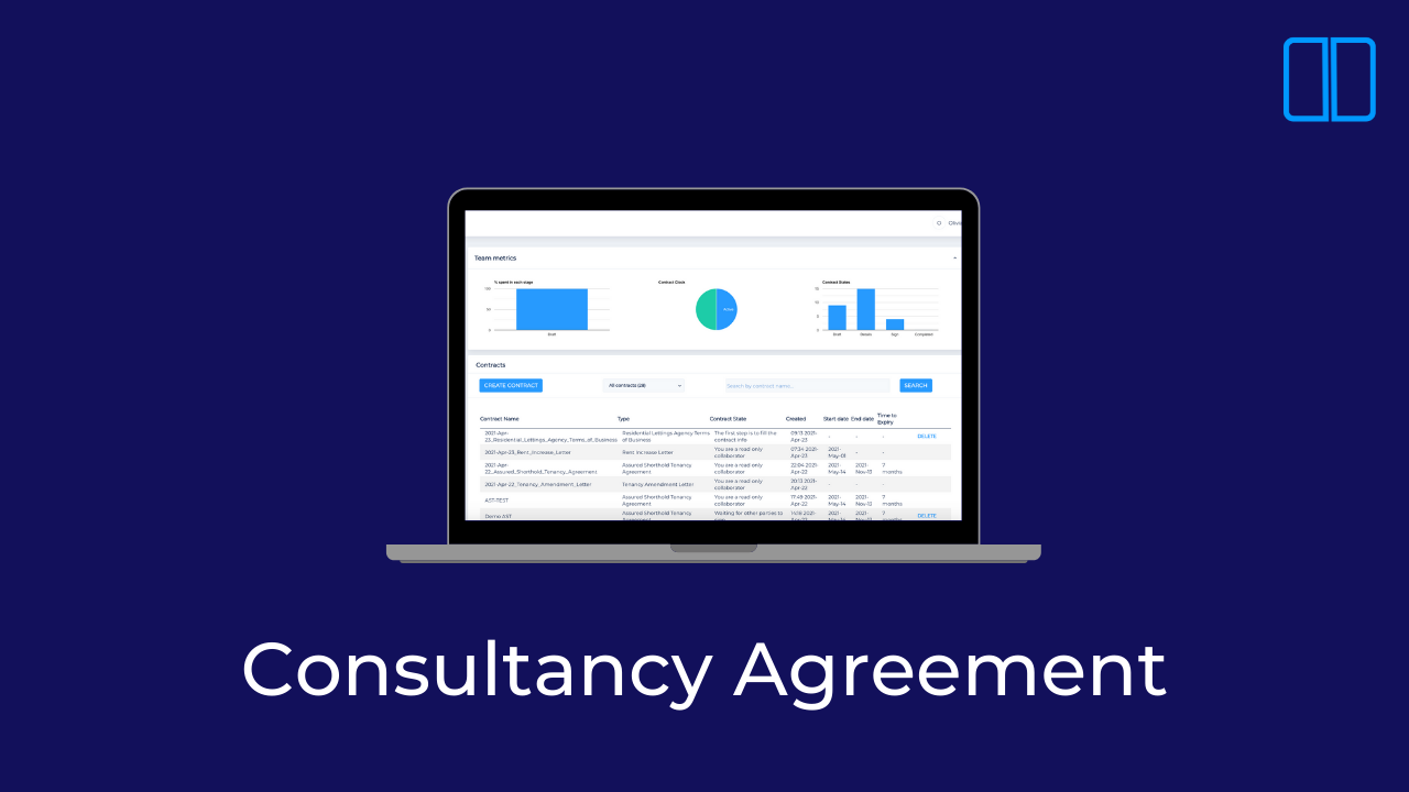 How to create a Consultancy Agreement with Legislate