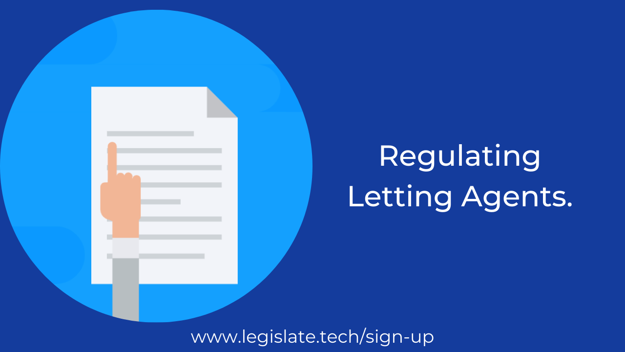 How are letting agencies regulated?