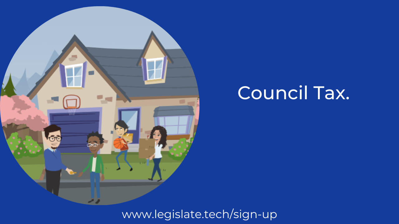 Council tax and rental properties
