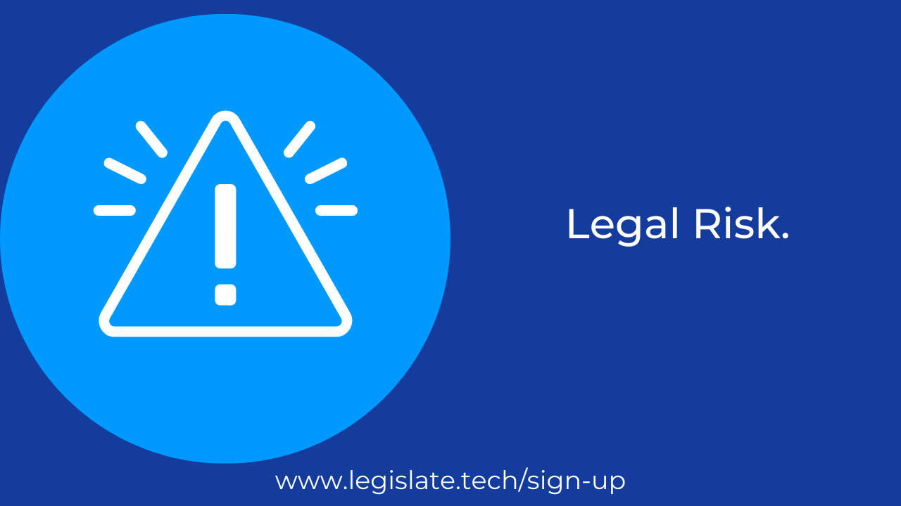 Pay Attention! Don't Ignore Your Legal Risks