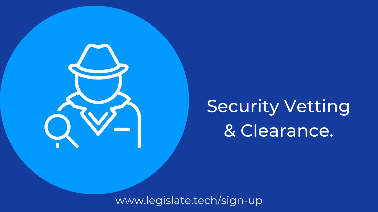 Employment Security Vetting and Clearance