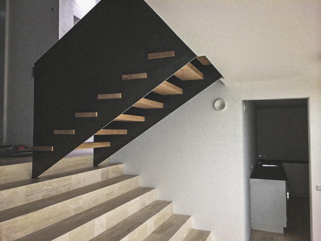 Billede af et igangværende byggeri i Aalborg, tegnet af arkitektfirmaet m2plus.
