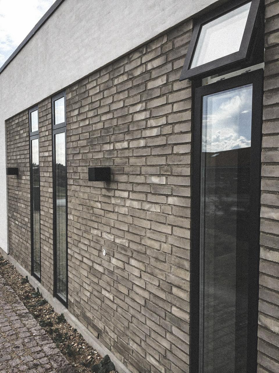 Billede af villa i Roskilde  efter indflytning, tegnet af arkitektfirmaet m2plus.