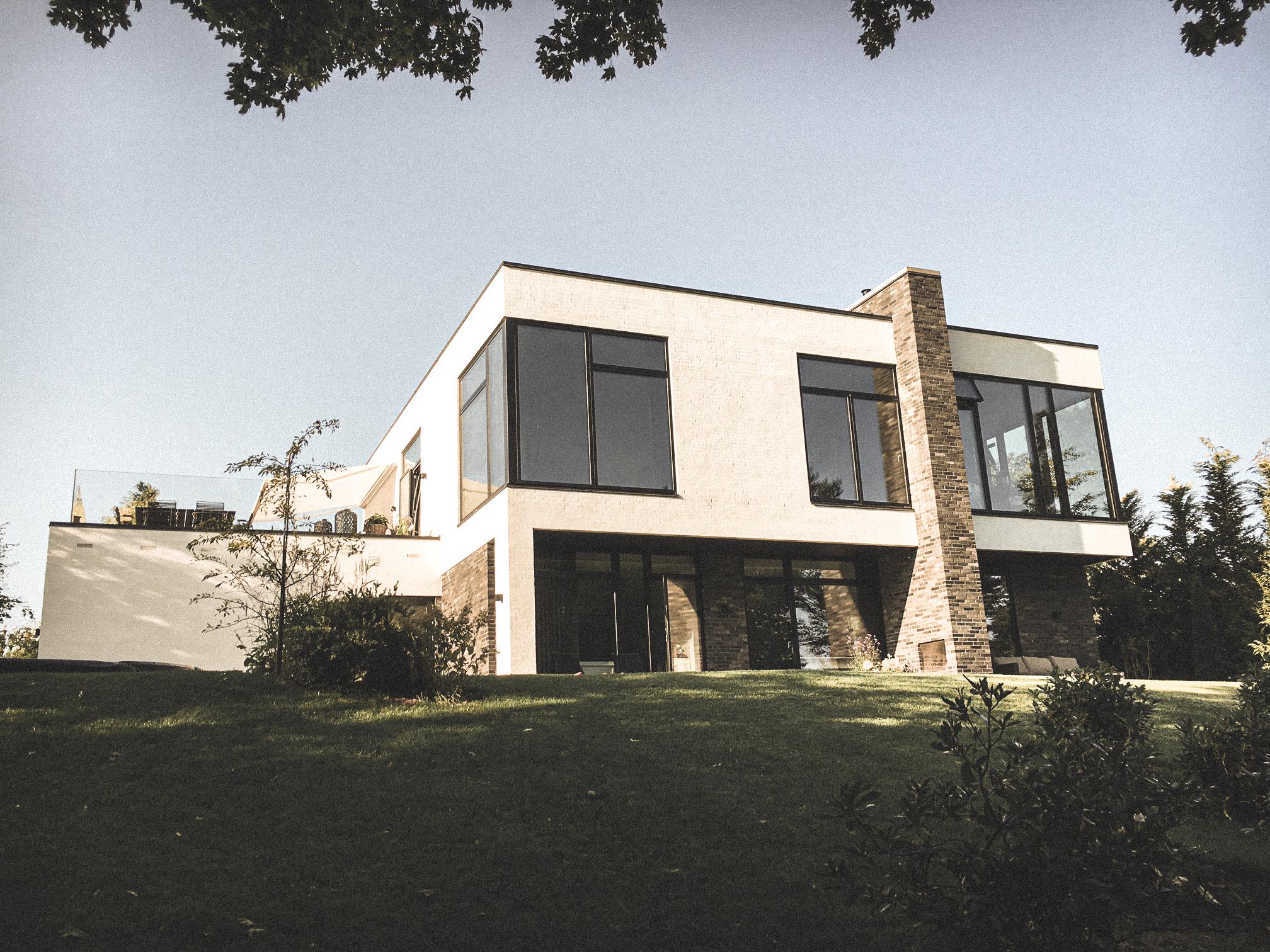Billede af villa i Villa S15 efter indflytning, tegnet af arkitektfirmaet m2plus.