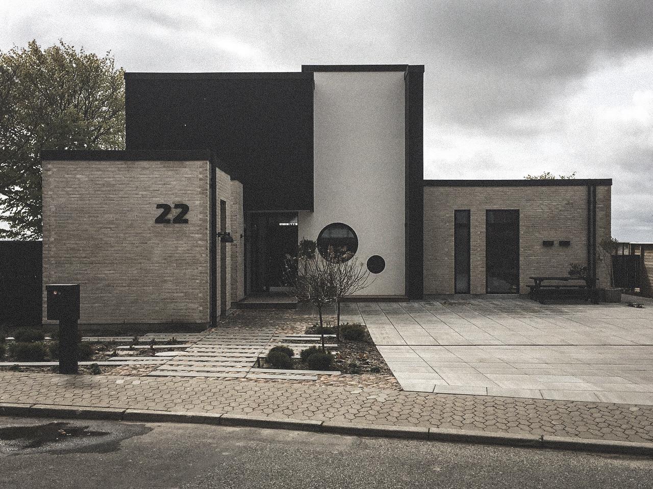 Billede af villa i HJERTING efter indflytning, tegnet af arkitektfirmaet m2plus.