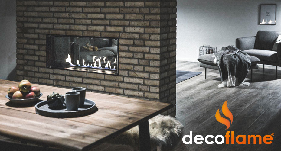 Deco Flame logo og baggrundsbillede, linket til deres side.