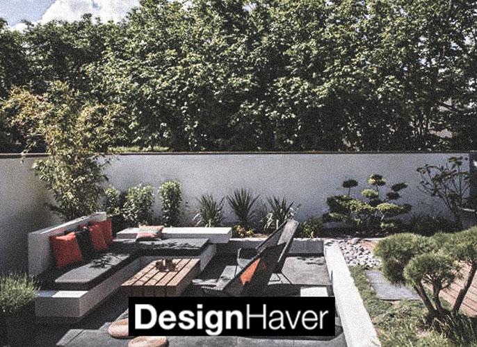 Design Haver logo og baggrundsbillede, linket til deres side.